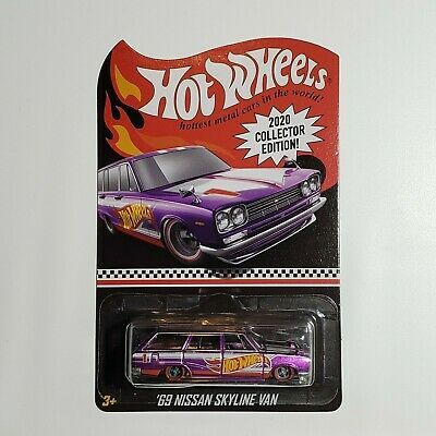 New 2020 Hot Wheels '69 Nissan Skyline Van Dollar General Mail In