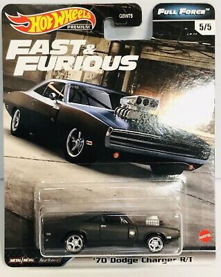 New 2020 Hot Wheels '70 Dodge Charger R/T Fast And The Furious