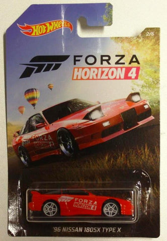 New 2020 Hot Wheels '96 Nissan 180SX Type-X Forza Horizon 4
