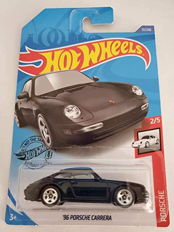 New 2020 Hot Wheels '96 Porsche Carrera Black