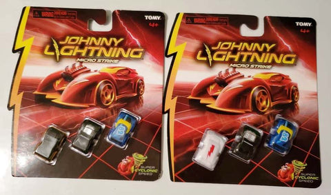 New 2020 Johnny Lightning Micro Strike Chase And Mainline Set