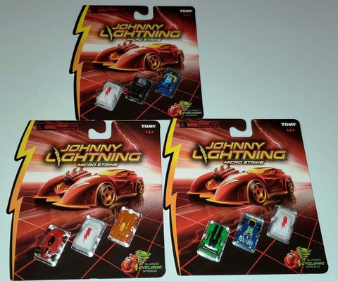 New 2020 Johnny Lightning Micro Strike Chase Set Of 3