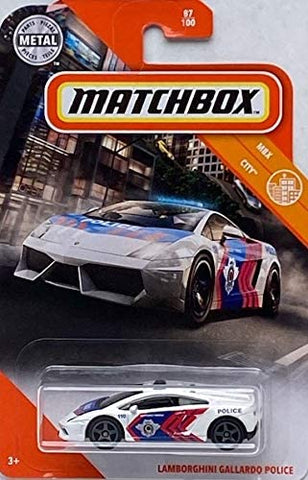 New 2020 Matchbox Lamborghini Gallardo Police Car