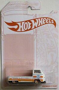 New 2020 Hot Wheels Pearl and Chrome Volkswagen T2 Pickup