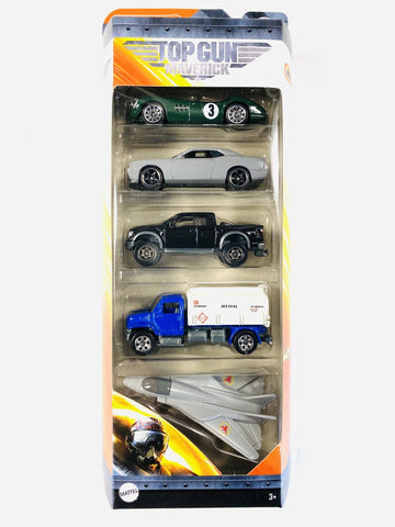New 2020 Matchbox Top Gun Maverick 5 Pack #2 1956 Aston Martin DBR1