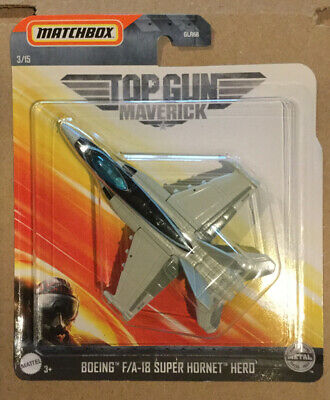 New 2020 Matchbox Top Gun Maverick Movie Boeing F/A-18 Super Hornet Hero 3/15