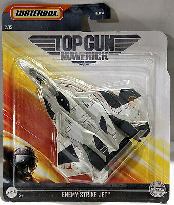 New 2020 Matchbox Top Gun Maverick Movie Enemy Strike Jet 2/15