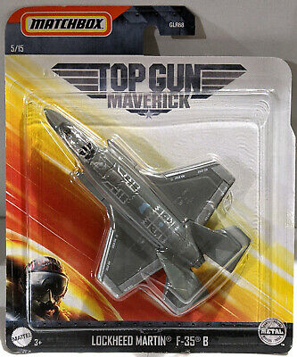 New 2020 Matchbox Top Gun Maverick Movie Lockheed Martin F-35 B 5/15