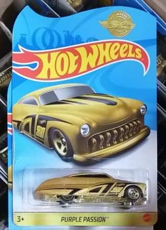 New 2021 Hot Wheels Purple Passion Gold Series Limited Edition