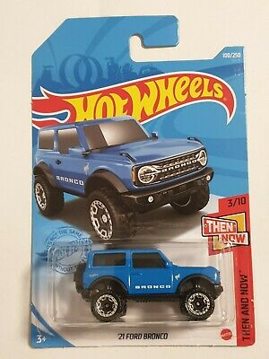2021 Hot Wheels THEN AND NOW 3//10 /'21 Ford Bronco 100//250