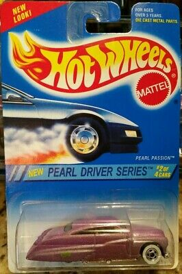 New 1994 Hot Wheels Pearl Passion Pearl Driver Series
