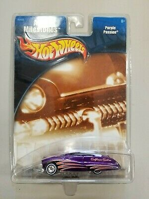 New 2001 Hot Wheels Auto Milestones Purple Passion