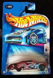 New 2003 Hot Wheels Star Spangled Purple Passion