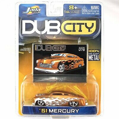 New 2004 Dub City '51 Mercury Jada Toys Copper & White