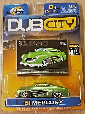 New 2004 Dub City '51 Mercury Jada Toys Green & Black