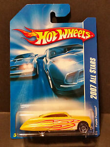 New 2007 Hot Wheels Purple Passion 2007 All Stars Yellow