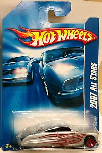 New 2007 Hot Wheels Purple Passion 2007 All Stars Silver