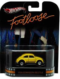 New 2012 Hot Wheels Footloose Volkswagen Beetle Retro Entertainment Car