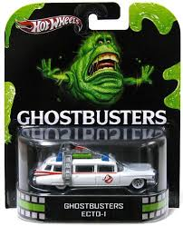 New 2012 Hot Wheels Ghostbusters ECTO-1 Retro Entertainment Car