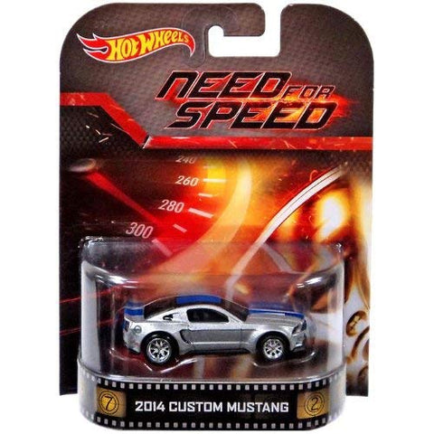 New 2014 Hot Wheels Need For Speed 2014 Custom Mustang Retro Entertainment