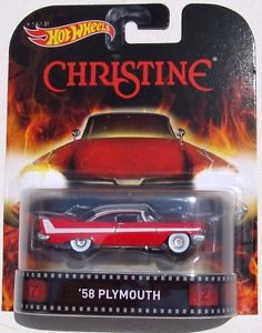 New 2014 Hot Wheels Retro Entertainment Christine 1958 Plymouth Fury