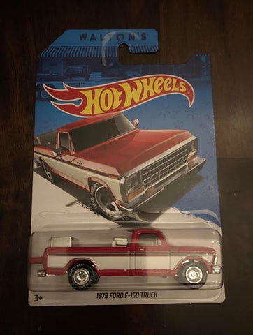 New 2014 Hot Wheels Sam Walton's 1979 Ford F-150 Truck Wal-Mart Exclusive Real Riders
