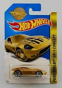 New 2016 Ford Shelby GR-1 Concept Gold Limited Edition