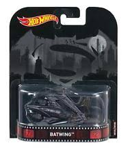 New 2017 Hot Wheels Batman vs Superman Batwing Retro Entertainment