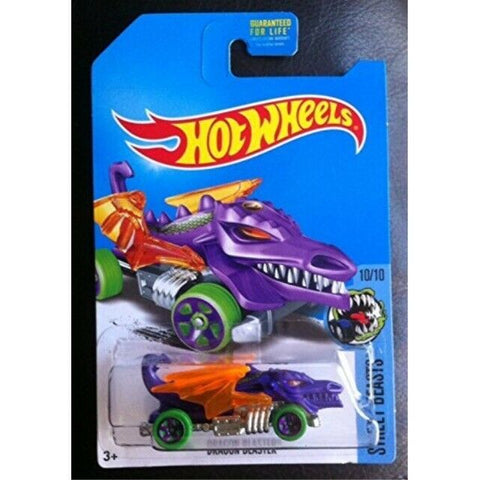 New 2017 Hot Wheels Dragon Blaster Street Beasts Treasure Hunt Car