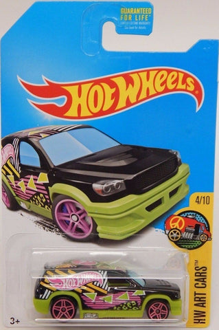 New 2017 Hot Wheels Fandango HW Art Cars Treasure Hunt Truck 4-10