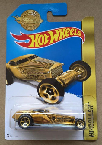 New 2017 Hot Wheels Hi-Roller Gold Series Limited Edition