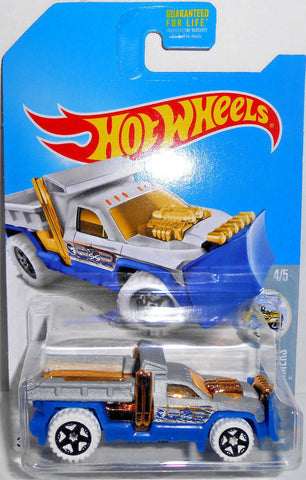 New 2017 Hot Wheels Treasure Hunt So Plowed HW Snow Stormers Truck 4-5