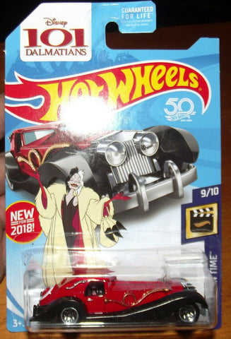 New 2018 Hot Wheels Cruella De Vil HW Screen Time Error