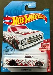 New 2019 Hot Wheels '67 Chevy C10 Target Exclusive Red Edition 10/12