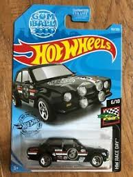 New 2019 Hot Wheels '70 Ford Escort RS1600 Gum Ball 3000 HW Race Day Car