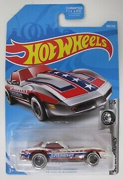 New 2019 Hot Wheels Corvette Stingray Treasure Hunt Super Chromes
