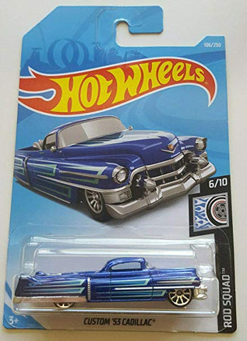 New 2019 Hot Wheels Custom '53 Cadillac Rod Squad