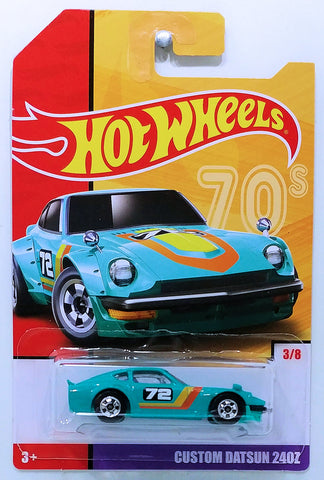 New 2019 Hot Wheels Custom Datsun 240Z Throwback Series Target Exclusive