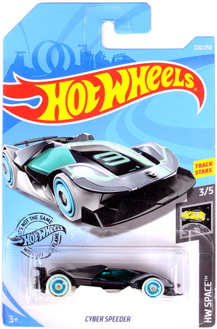 New 2019 Hot Wheels Cyber Speeder Treasure Hunt HW Space