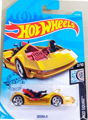 New 2019 Hot Wheels Deora III Rod Squad New For 2019 Deora 3 Gold Variation