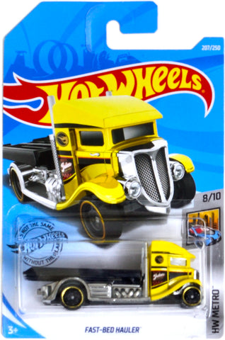 New 2019 Hot Wheels Fast-Bed Hauler Treasure Hunt Truck HW Metro