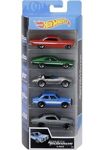New 2019 Hot Wheels Fast and The Furious 5 Pack