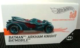 New 2019 Hot Wheels ID Car Batman Arkham Knight Batmobile Series 1