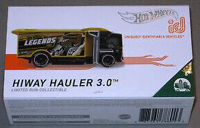 New 2019 Hot Wheels ID Car Hiway Hauler 3.0 Series 1