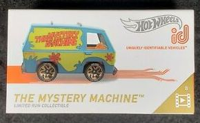 New 2019 Hot Wheels ID Car Scooby-Doo Mystery Machine