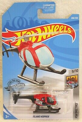 New 2019 Hot Wheels Island Hopper HW Metro Helicopter