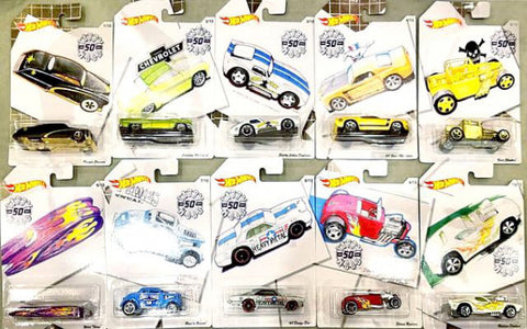 New 2019 Hot Wheels Larry Wood Collection Full Set Of 10 Cars