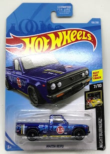 New 2019 Hot Wheels Mazda Repu Super Treasure Hunt Truck Nightburnerz