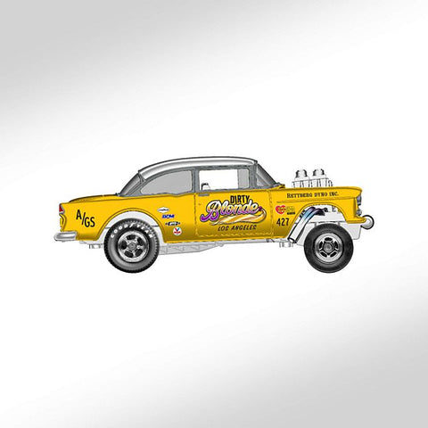 New 2019 Hot Wheels RLC Selections '55 Chevy Gasser Dirty Blonde