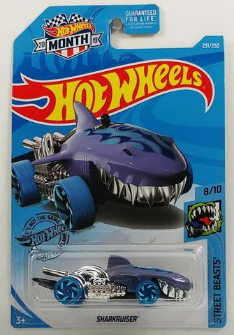 New 2019 Hot Wheels Sharkruiser Street Beasts Treasure Hunt Car